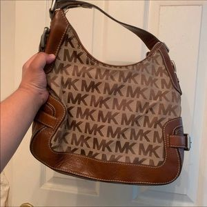 Michael Kors Signature bag canvas/leather